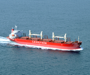 J. Lauritzen is one of the many Danish shipping companies operating worldwide.